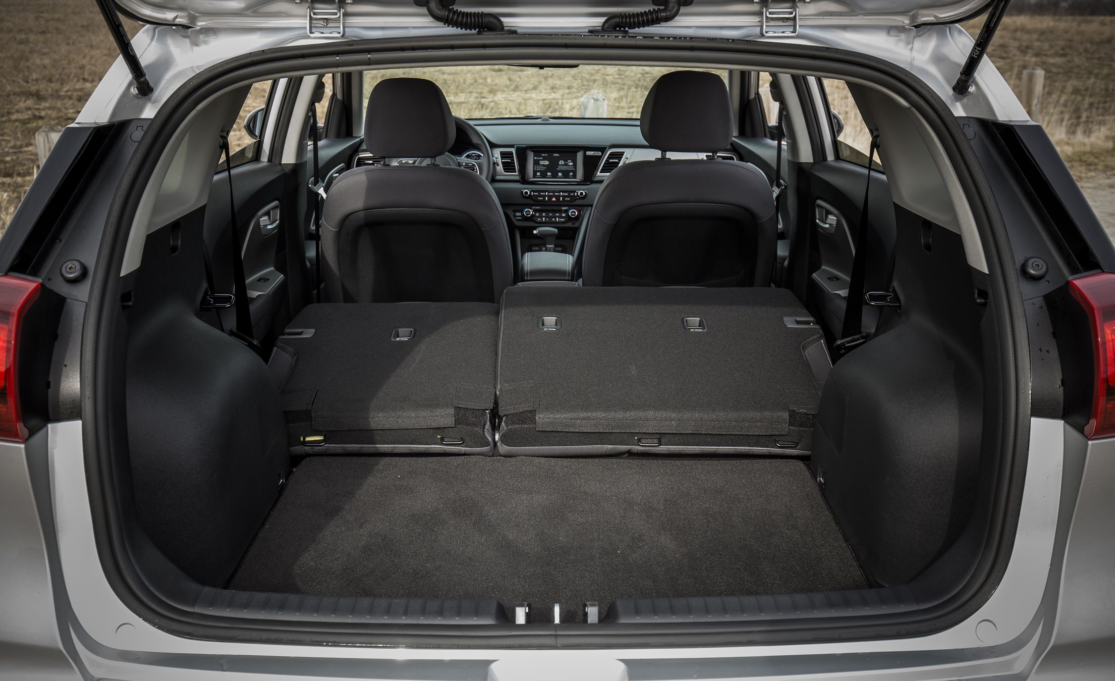 2017 Kia Niro Cargo Space And Storage Review Car And