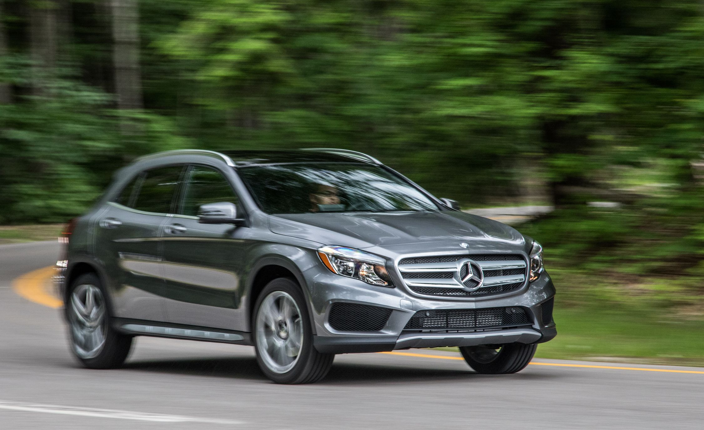 2017 mercedes benz gla class performance and driving impressions car and driver
