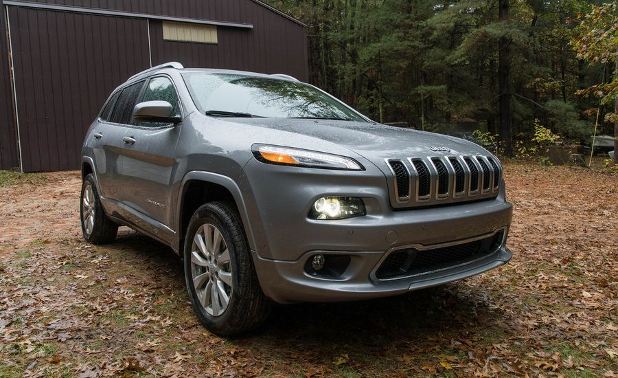 2017 jeep cherokee exterior review car and driver. Black Bedroom Furniture Sets. Home Design Ideas