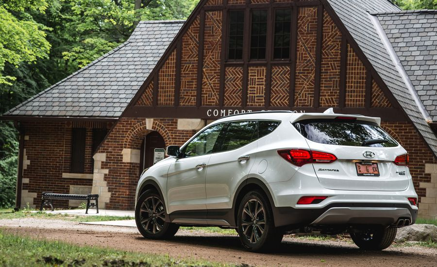 2017 hyundai santa fe sport fuel economy review car and driver. Black Bedroom Furniture Sets. Home Design Ideas