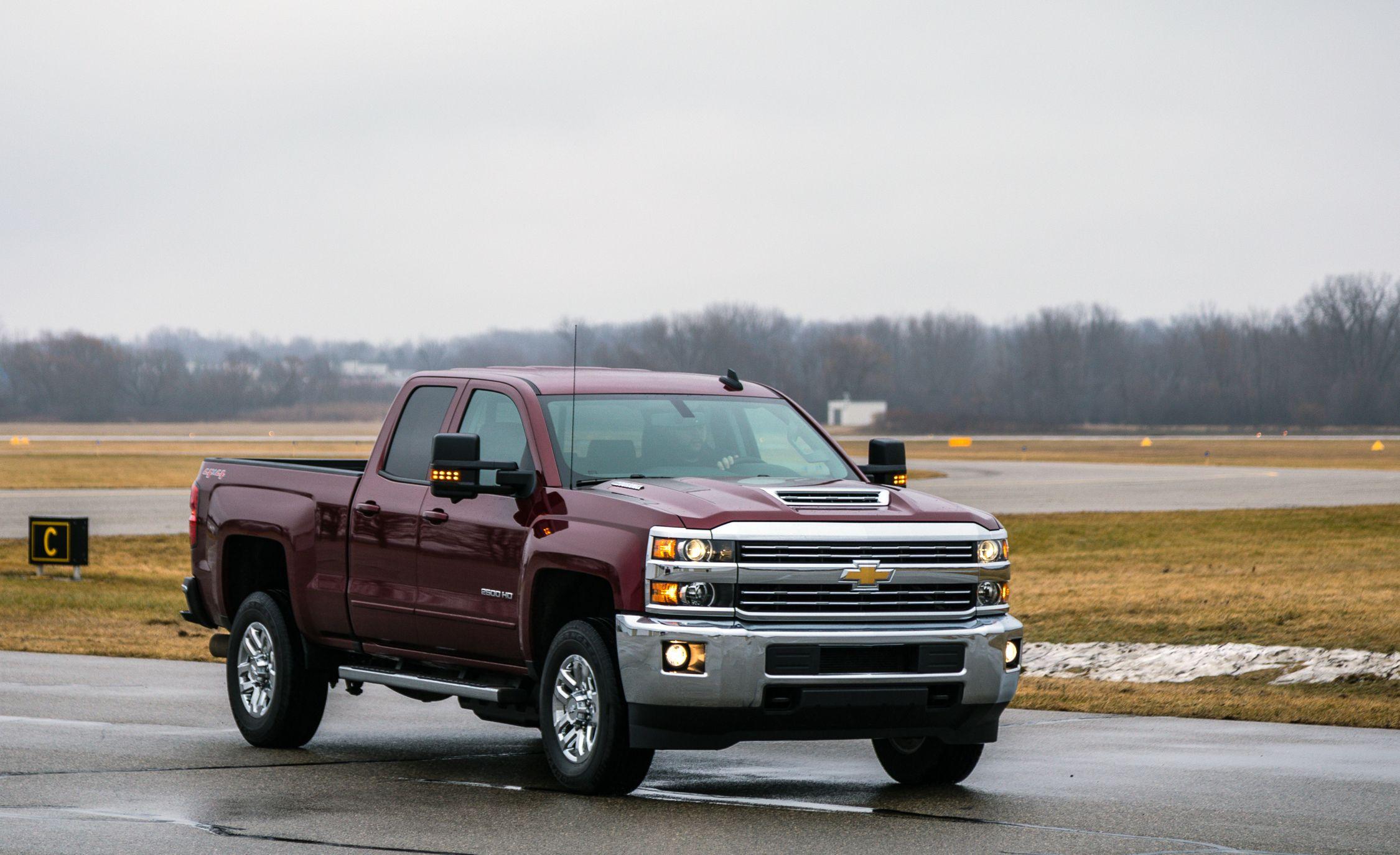 2017 Chevrolet Silverado 2500hd 3500hd Fuel Economy Review Car