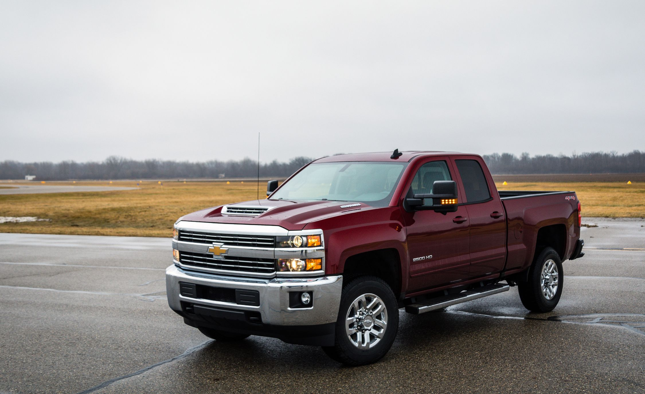 2017 Chevrolet Silverado Hd Duramax Sel Drive Review Car And Driver