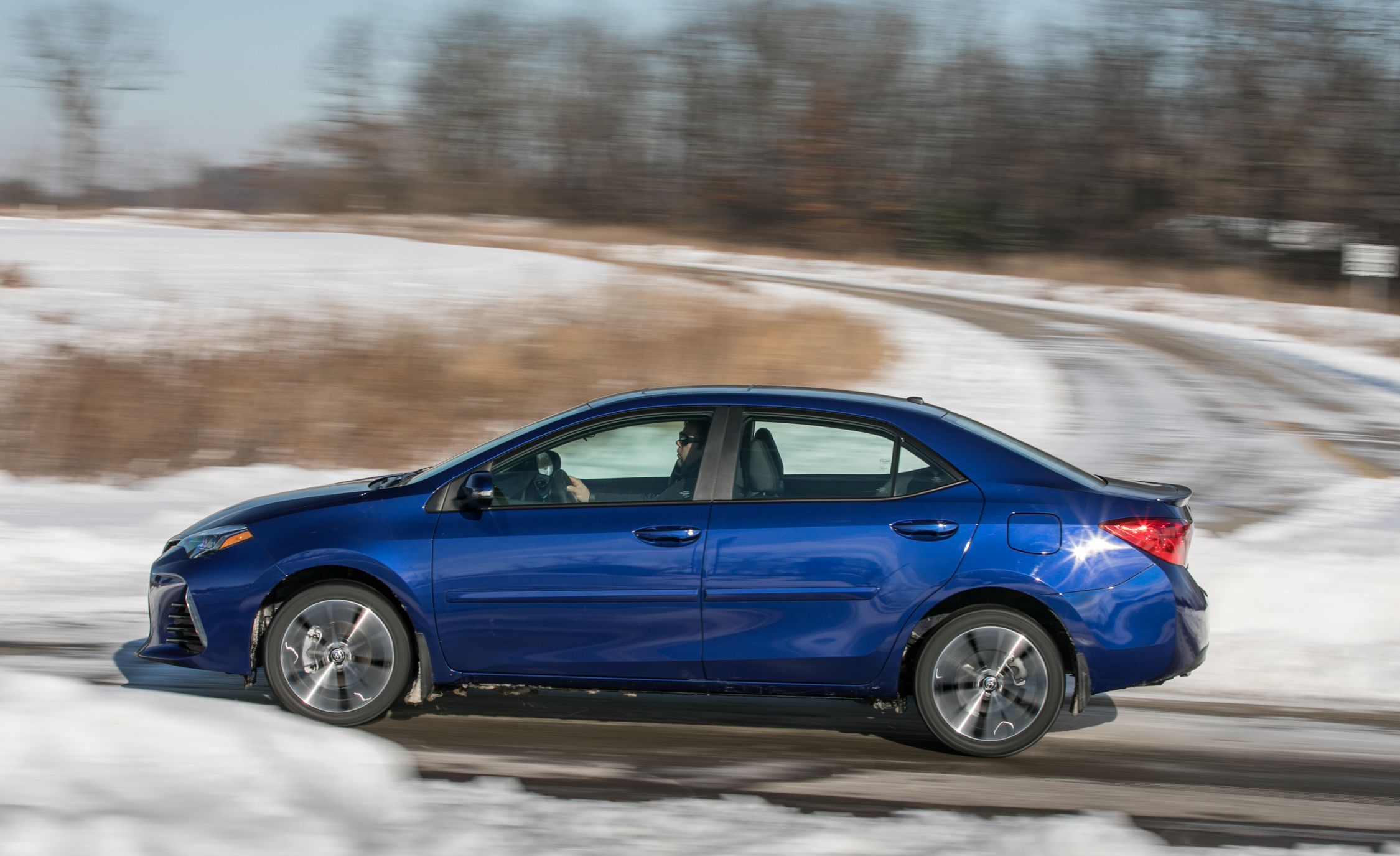 2017 Toyota Corolla Interior Review Car And Driver