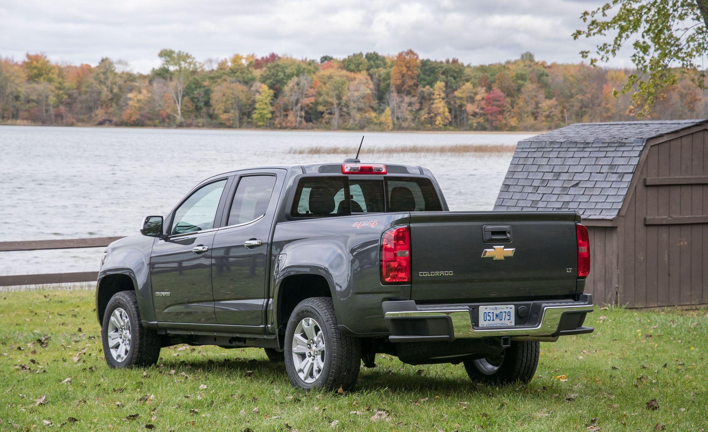 2017 Chevrolet Colorado Fuel Economy Review Car And Driver 3 5l Engine Parts Diagram