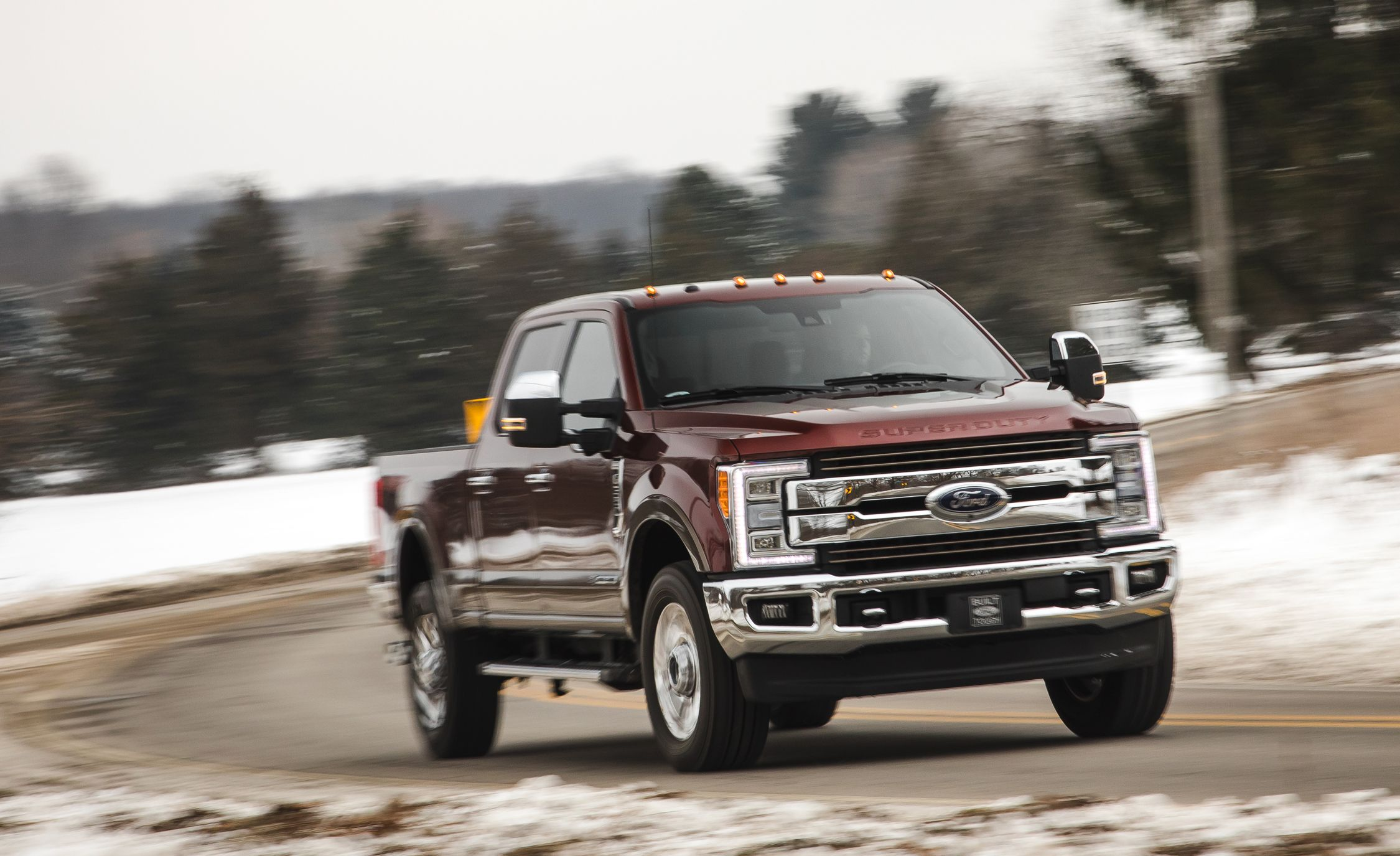 2017 Ford F Series Super Duty Performance And Driving Impressions Review Car Driver