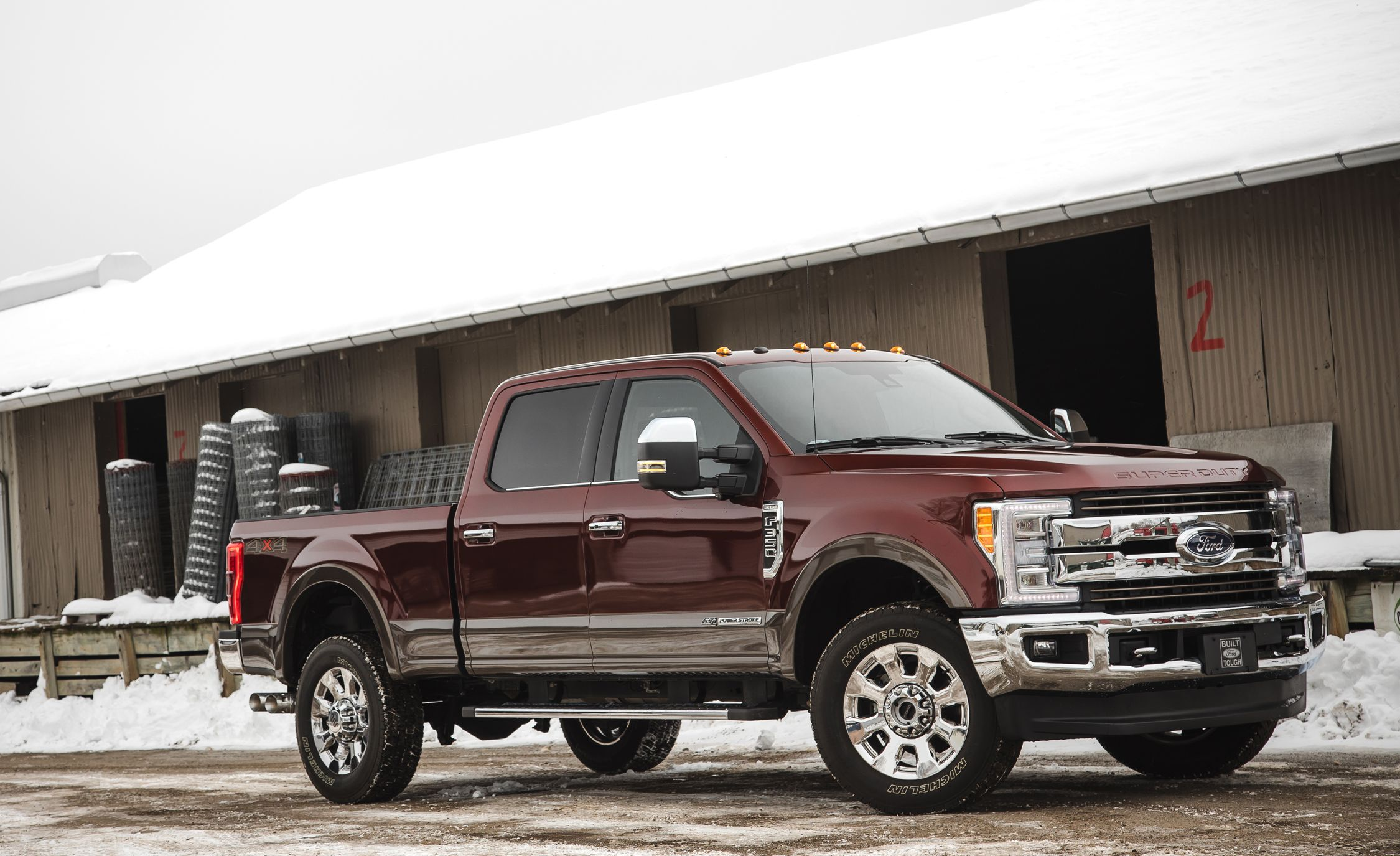 2017 ford f 350 super duty diesel 4x4 crew cab review car and driver