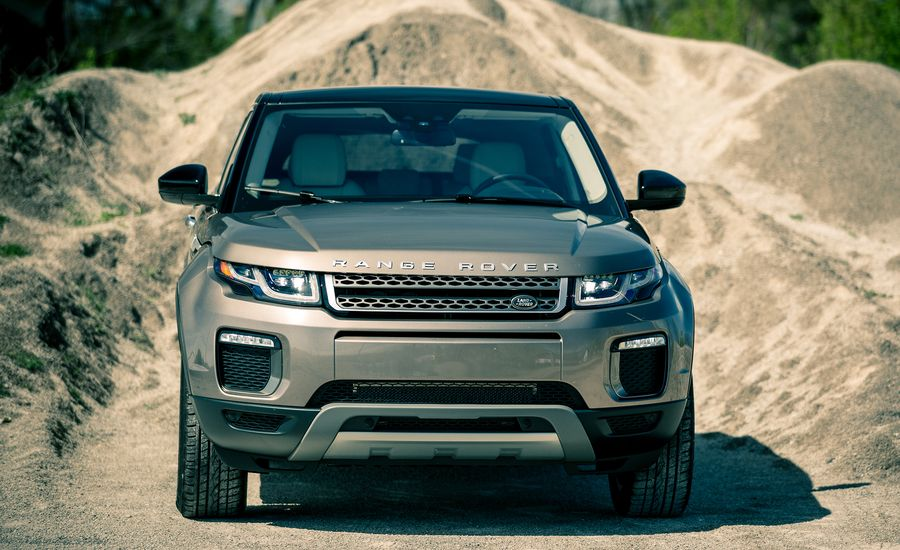 2017 land rover range rover evoque fuel economy review car and driver. Black Bedroom Furniture Sets. Home Design Ideas