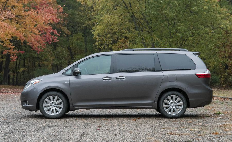 2017 toyota sienna interior review car and driver