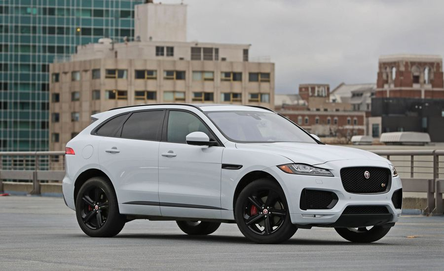 2017 jaguar f pace interior review car and driver. Black Bedroom Furniture Sets. Home Design Ideas