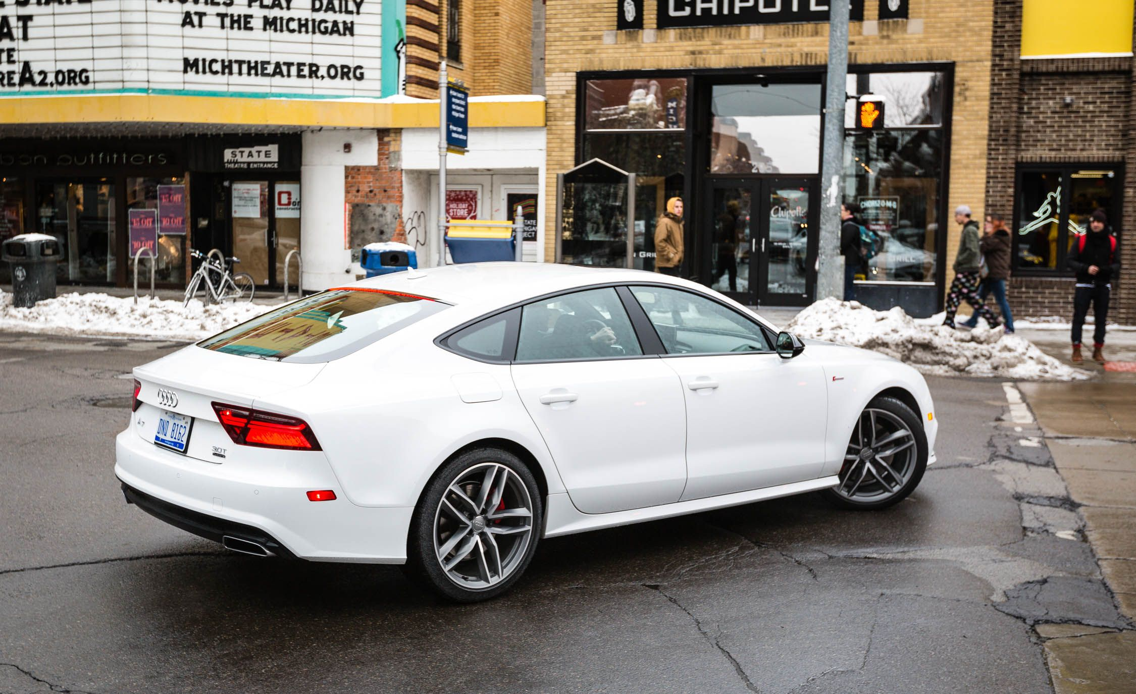 2018 Audi A7 In Depth Model Review Car And Driver