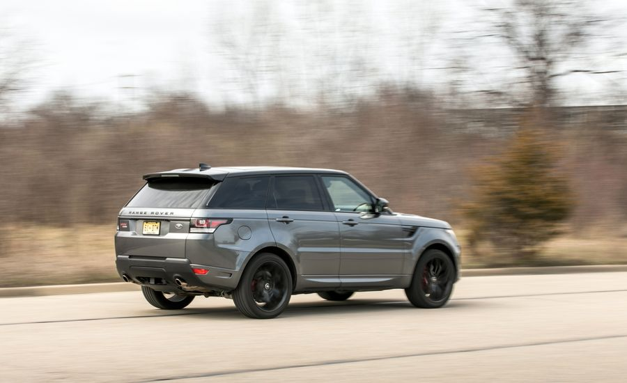 2017 Land Rover Range Rover Sport Supercharged / SVR | Fuel Economy
