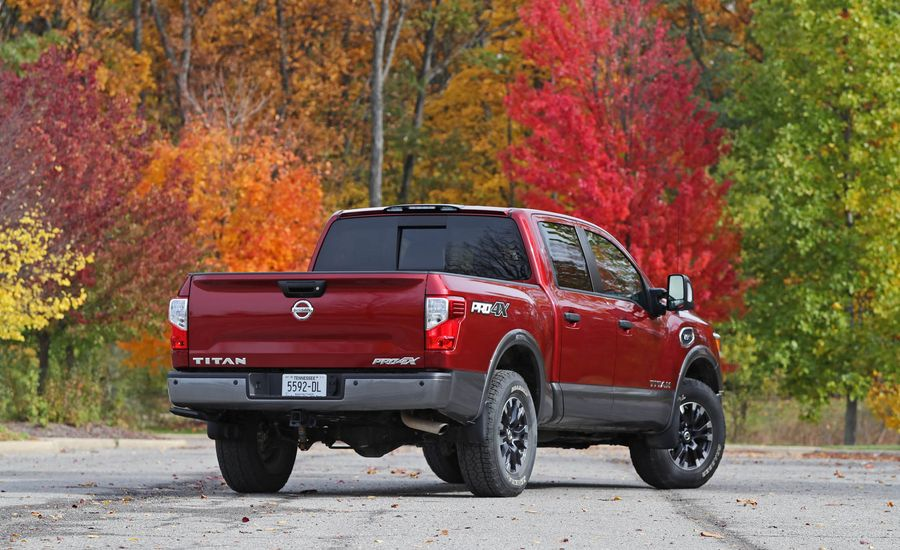 2017 nissan titan warranty review car and driver. Black Bedroom Furniture Sets. Home Design Ideas