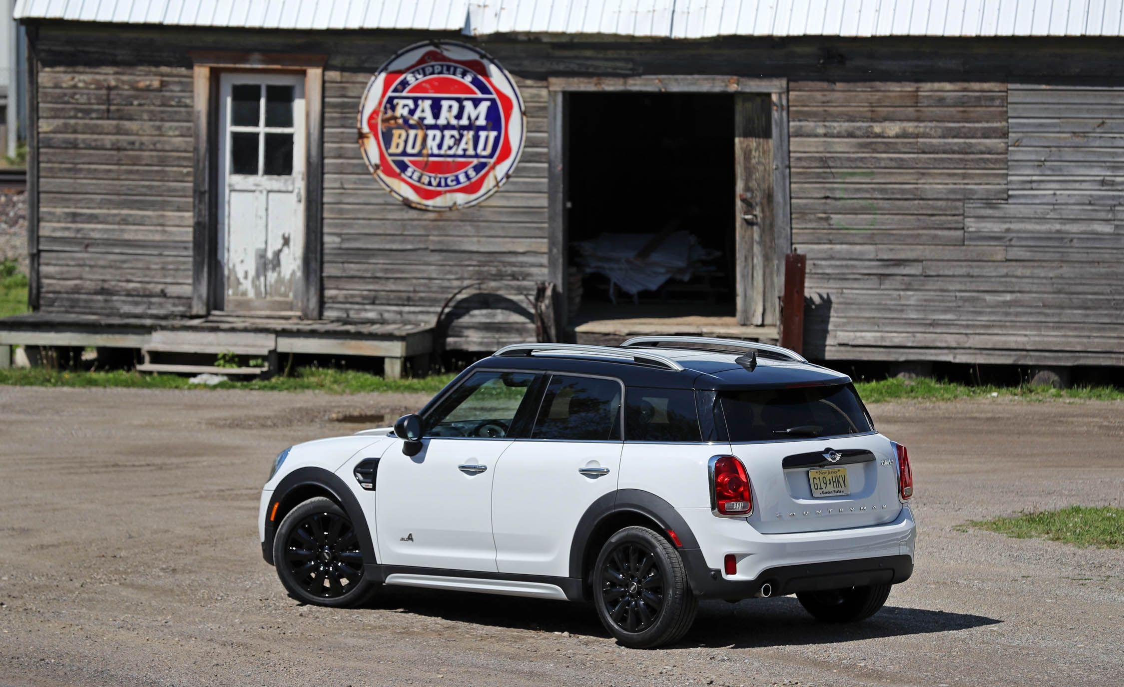 2017 Mini Cooper Countryman Cargo E And Storage Review Car Driver