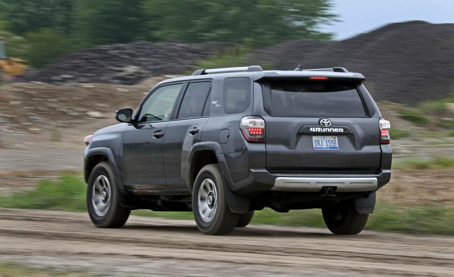 2017 toyota 4runner safety and driver assistance review car and driver. Black Bedroom Furniture Sets. Home Design Ideas