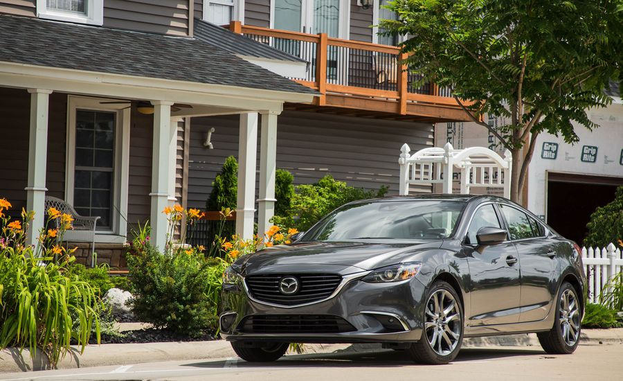 2017 mazda 6 exterior review car and driver. Black Bedroom Furniture Sets. Home Design Ideas