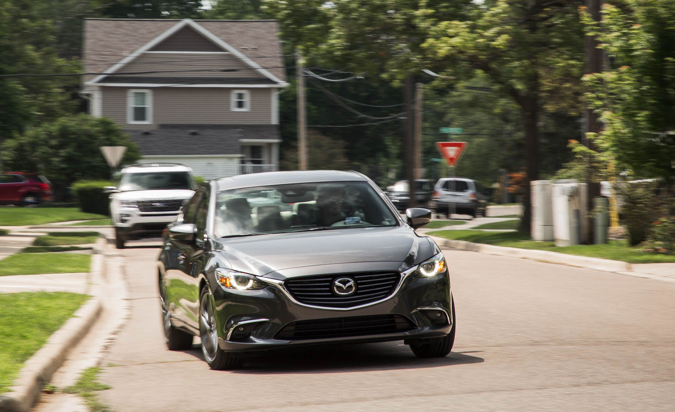 2017 Mazda 6 Performance And Driving Impressions Review Car Driver