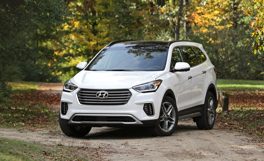 2018 hyundai santa fe engine and transmission review car and driver. Black Bedroom Furniture Sets. Home Design Ideas