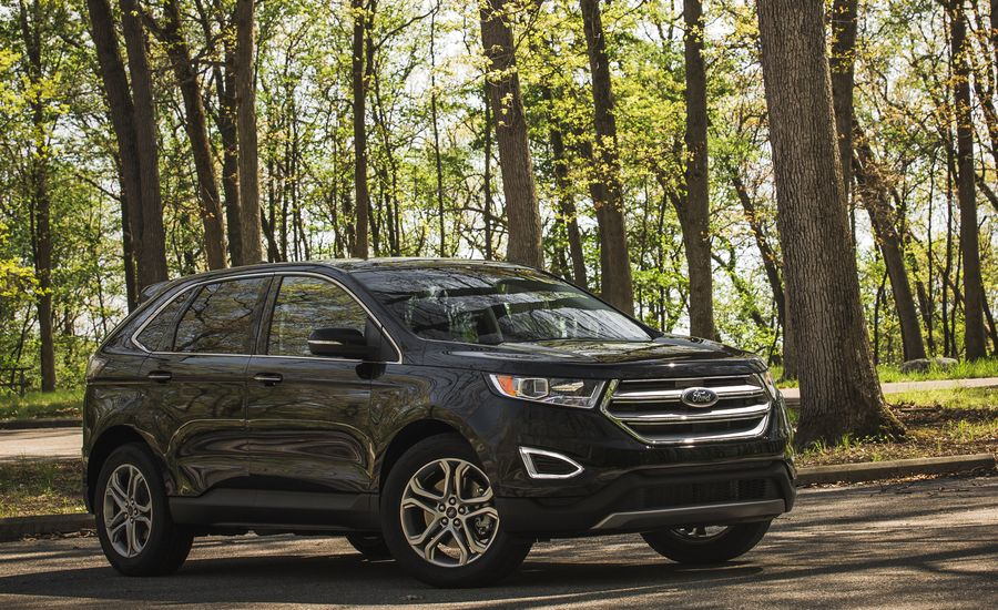 2018 ford edge fuel economy review car and driver. Black Bedroom Furniture Sets. Home Design Ideas