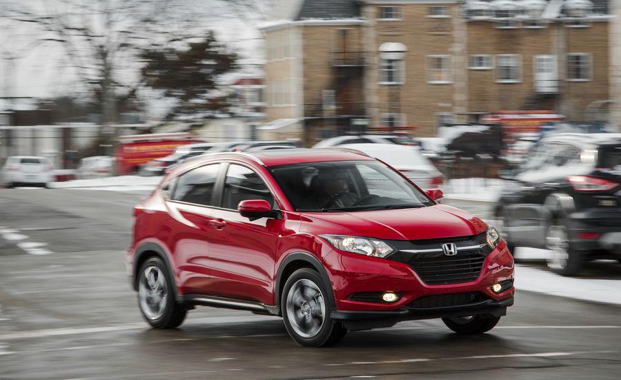 2018 honda hr v fuel economy review car and driver for Honda cr v fuel economy