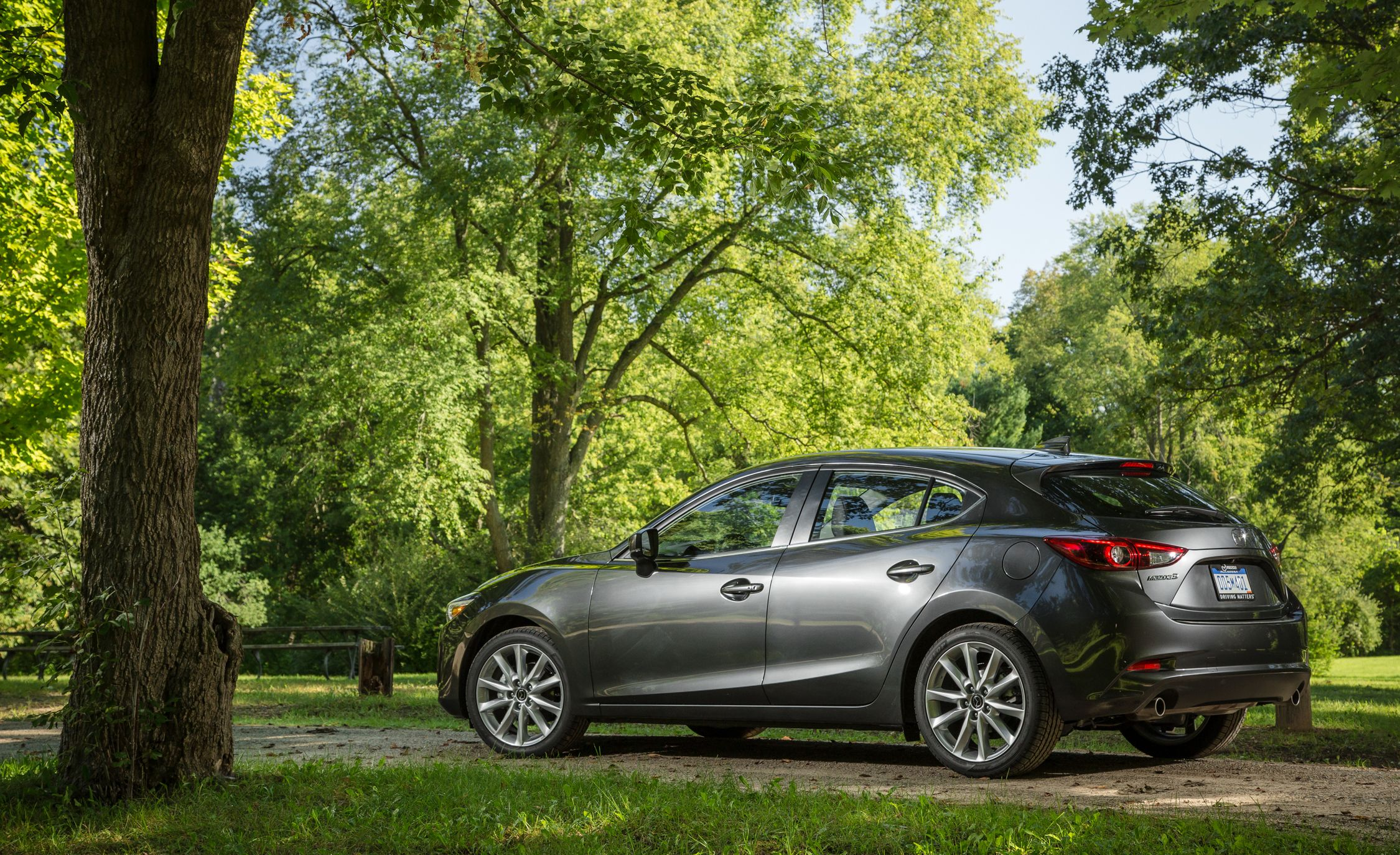 2018 Mazda 3 Interior Review Car And Driver