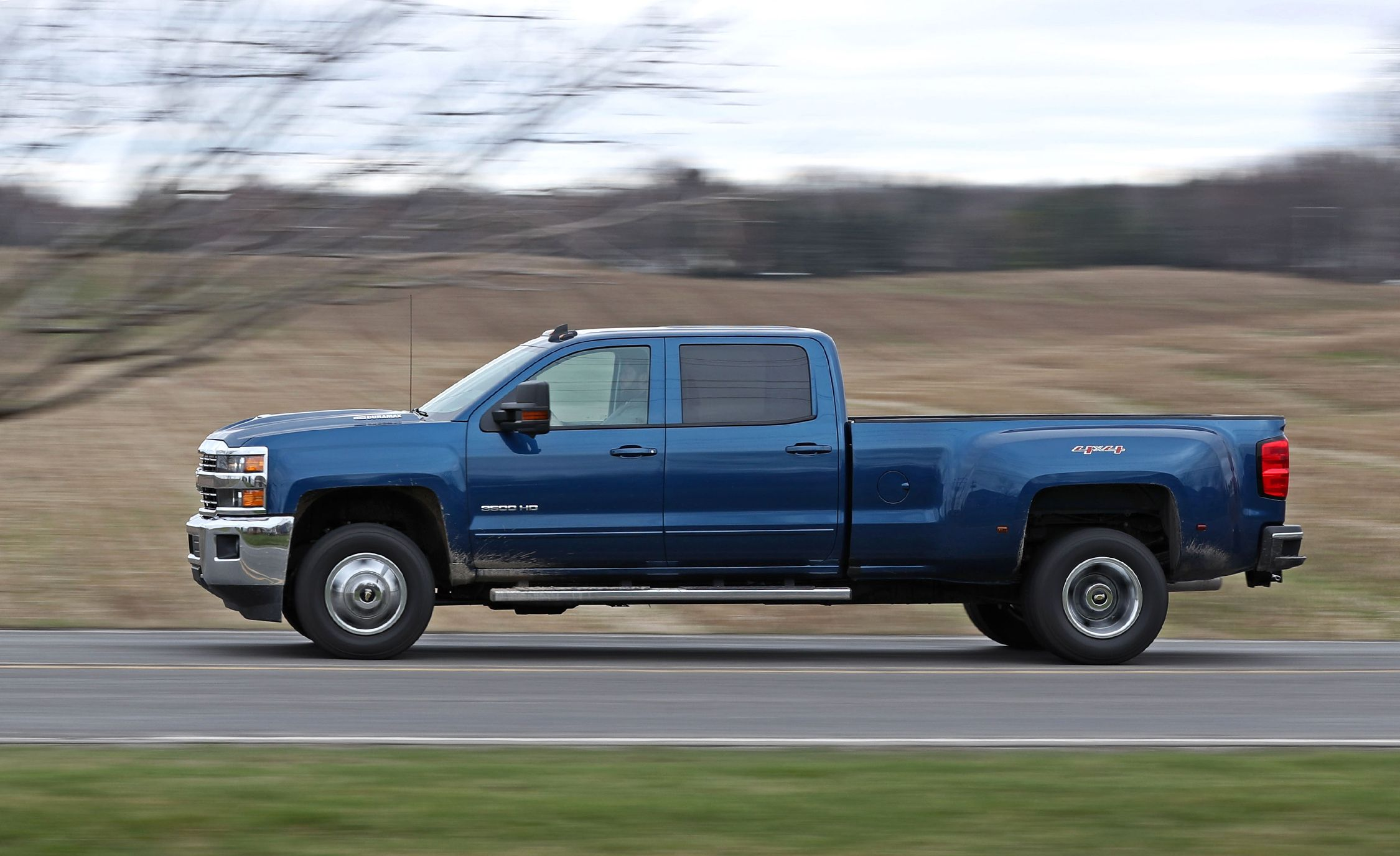 2017 Chevrolet Silverado 2500HD 4x4 Diesel Tested | Review | Car and Driver