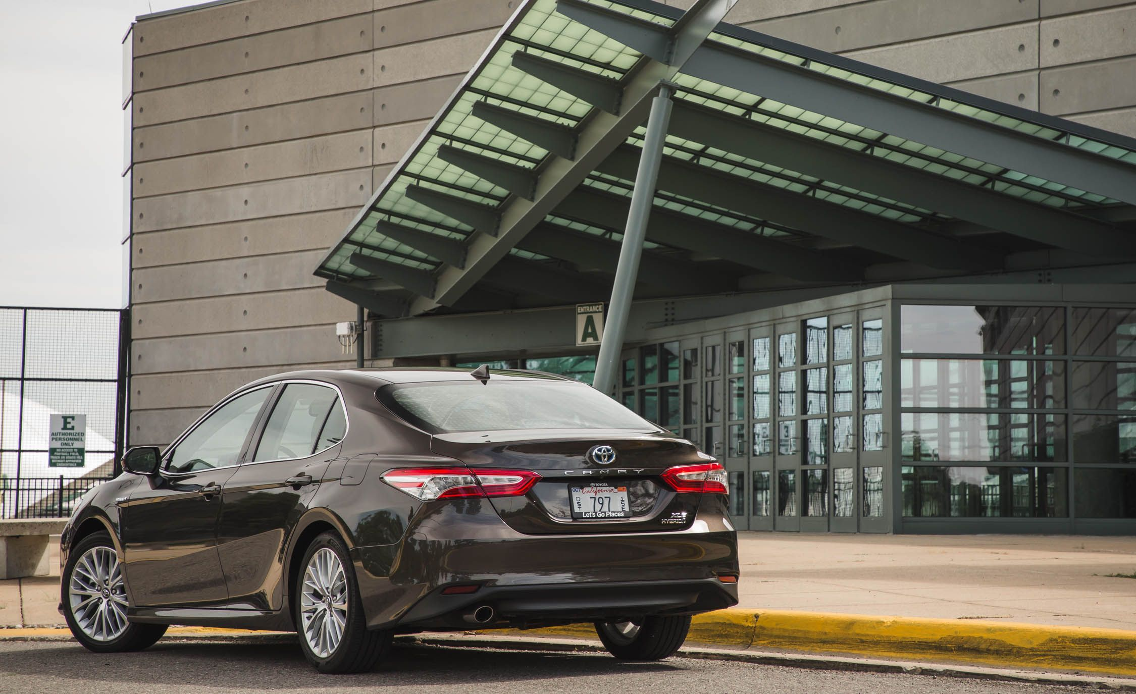 2018 Toyota Camry Cargo Space and Storage Review
