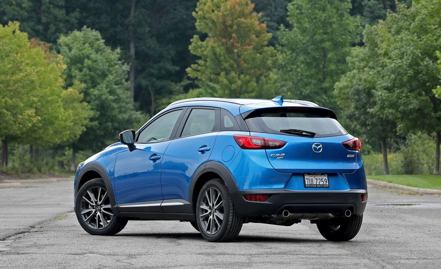 2018 mazda cx 3 cargo space and storage review car and driver. Black Bedroom Furniture Sets. Home Design Ideas