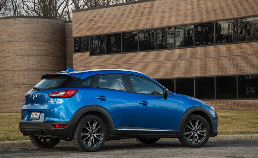 2018 Mazda Cx 3 Interior Review Car And Driver