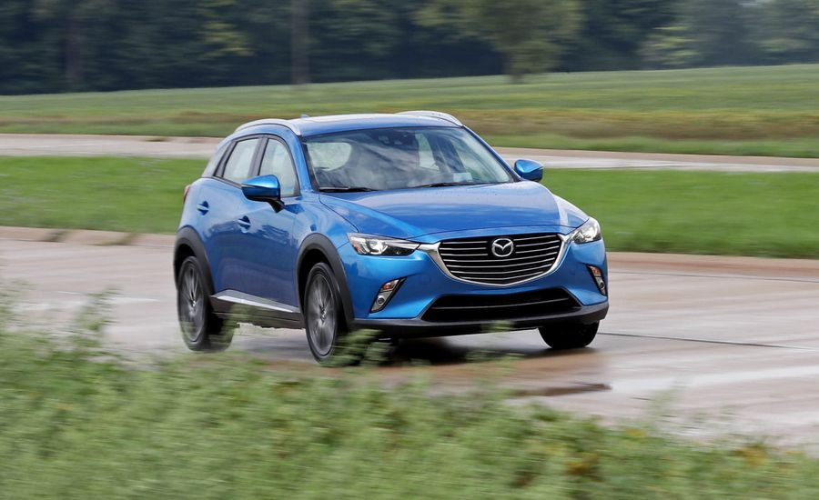 2018 mazda cx 3 safety and driver assistance review car and driver. Black Bedroom Furniture Sets. Home Design Ideas