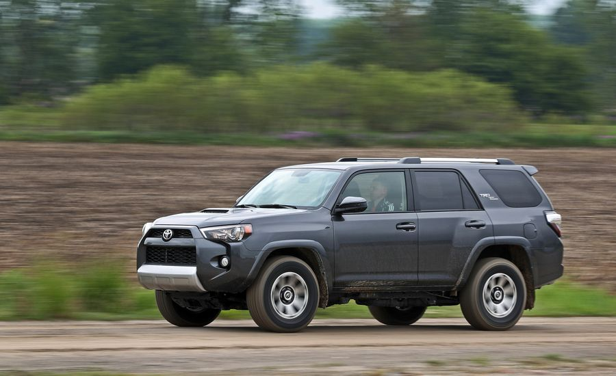 2018 toyota 4runner fuel economy review car and driver. Black Bedroom Furniture Sets. Home Design Ideas