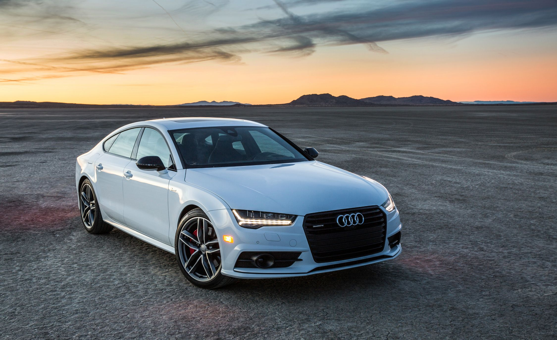2018 audi a7 exterior review car and driver. Black Bedroom Furniture Sets. Home Design Ideas