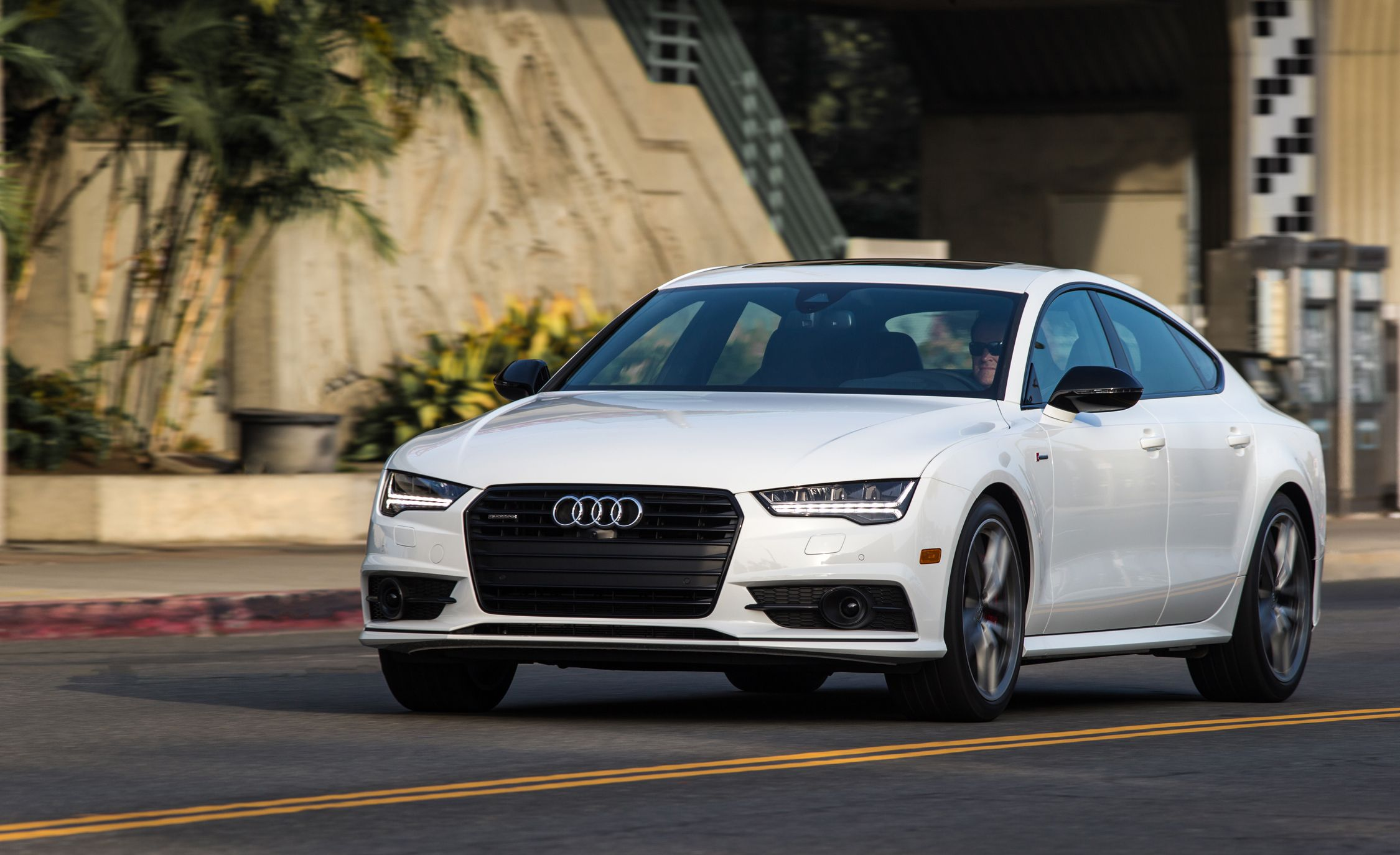 2018 Audi A7 Performance And Driving Impressions Review Car And