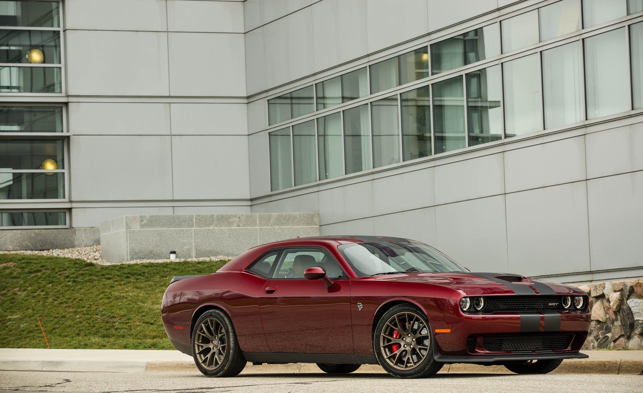 2017 Dodge Challenger SRT 392 SRT Hellcat Interior Review
