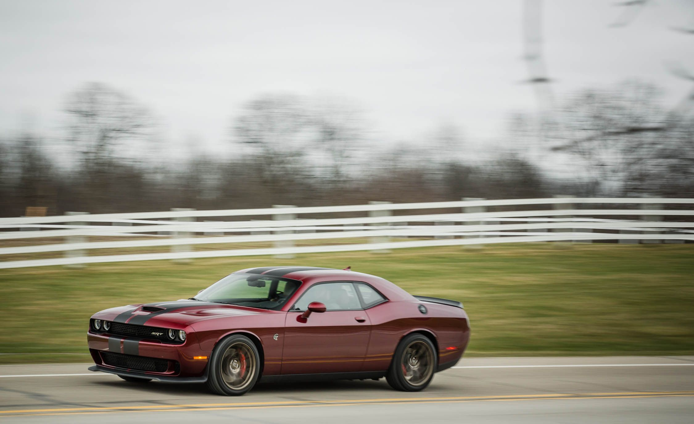 2017 Dodge Challenger Srt 392 Hellcat Performance And Driving Impressions Review Car Driver