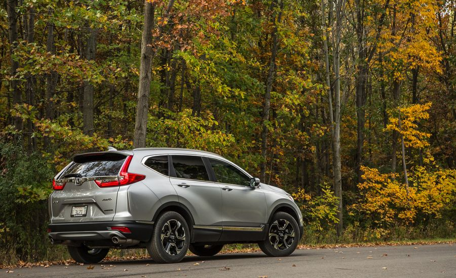 Car And Driver  Cr V Review