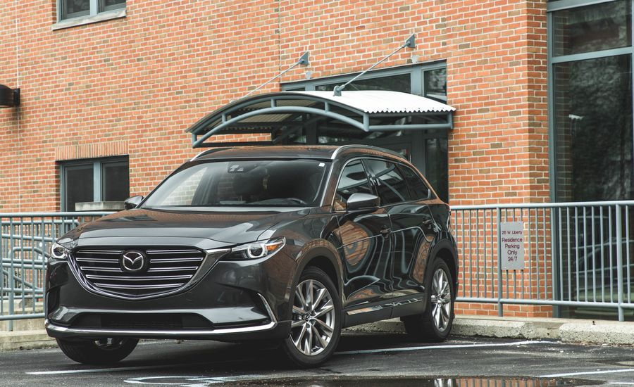 2018 mazda cx 9 mazda connect infotainment review car and driver. Black Bedroom Furniture Sets. Home Design Ideas