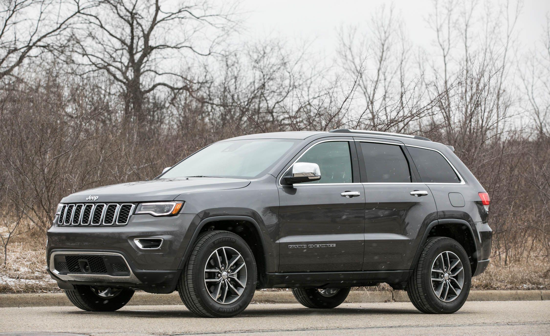 2018 jeep grand cherokee exterior review car and driver rh caranddriver com