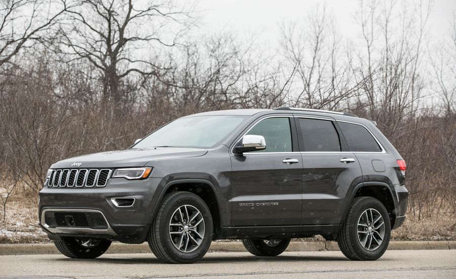 2018 jeep grand cherokee exterior review car and driver. Black Bedroom Furniture Sets. Home Design Ideas
