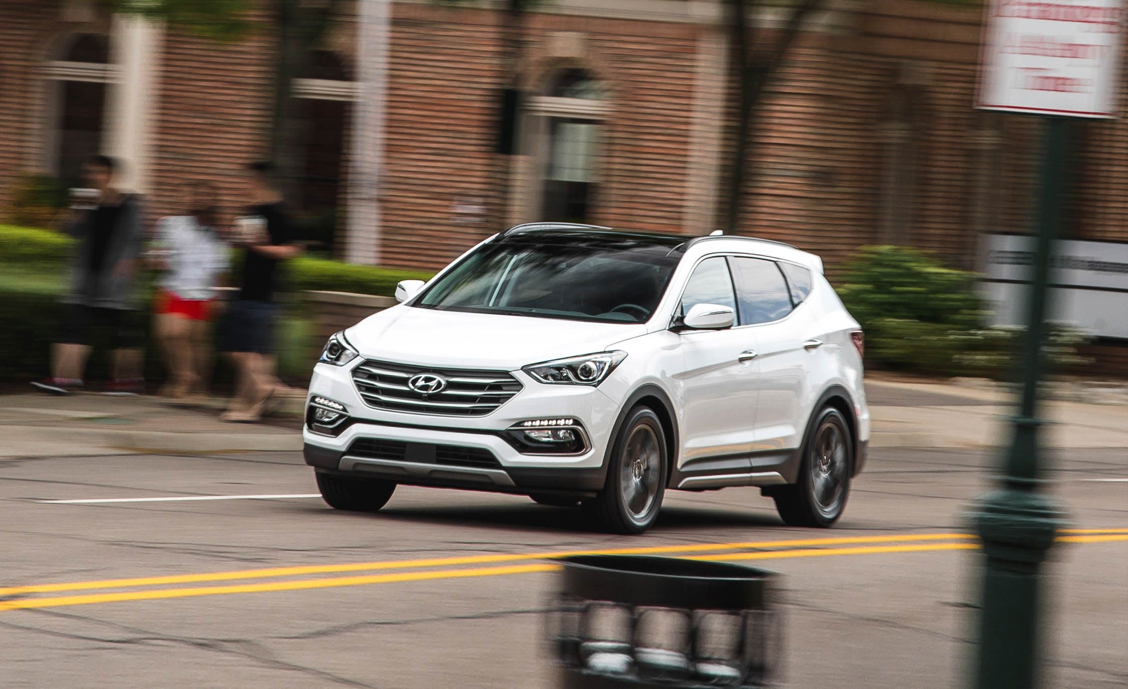 2018 Hyundai Santa Fe Sport In Depth Model Review Car And Driver Power Steering Leak Forums Forum