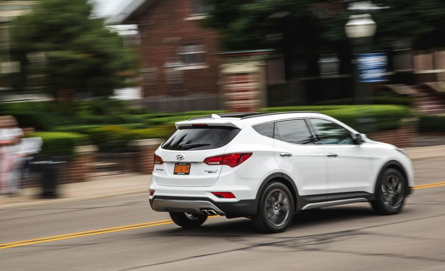 2018 Hyundai Santa Fe Sport | Safety and Driver istance Review ...