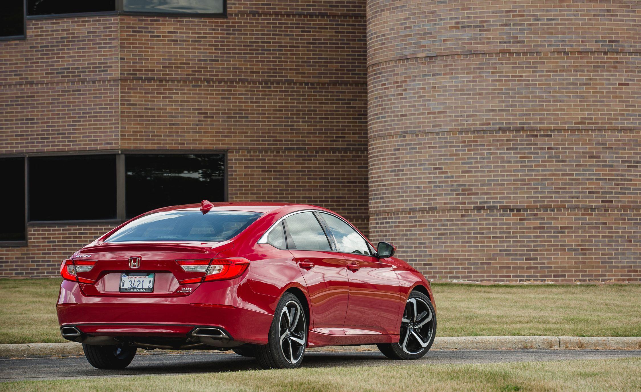 Honda Accord: Vehicle Storage