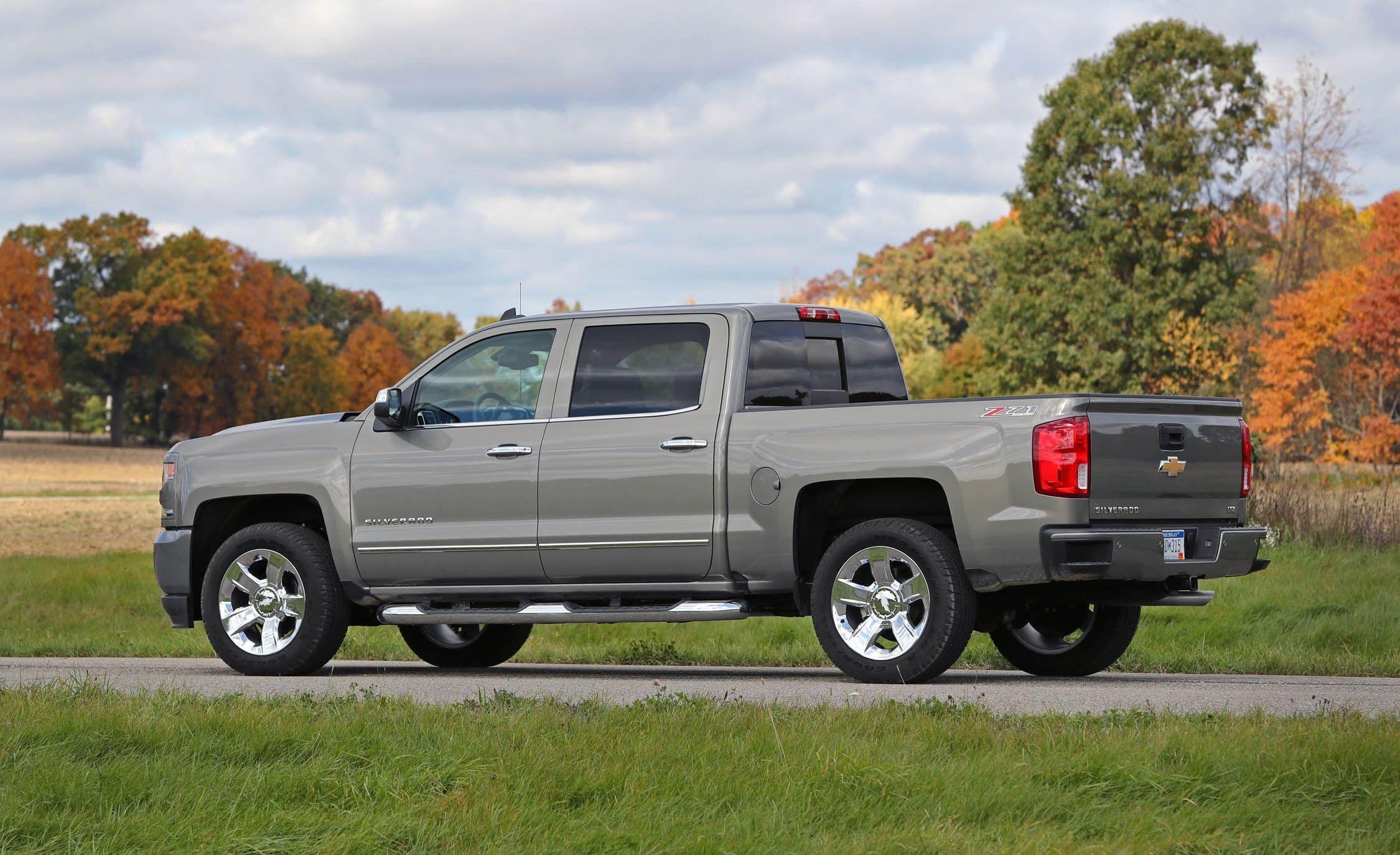 Nissan Infiniti Lt >> 2018 Chevrolet Silverado 1500 | Fuel Economy Review | Car and Driver