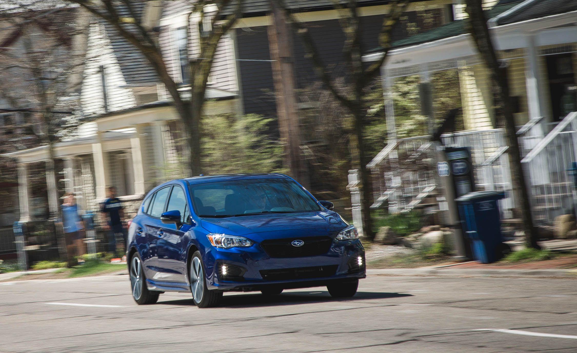 2017 Subaru Impreza Long Term Test Certainly No Chaos Machine