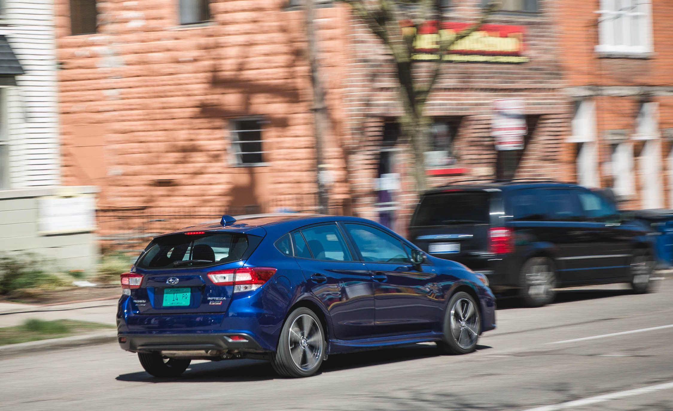 Subaru impreza 2017 0-60