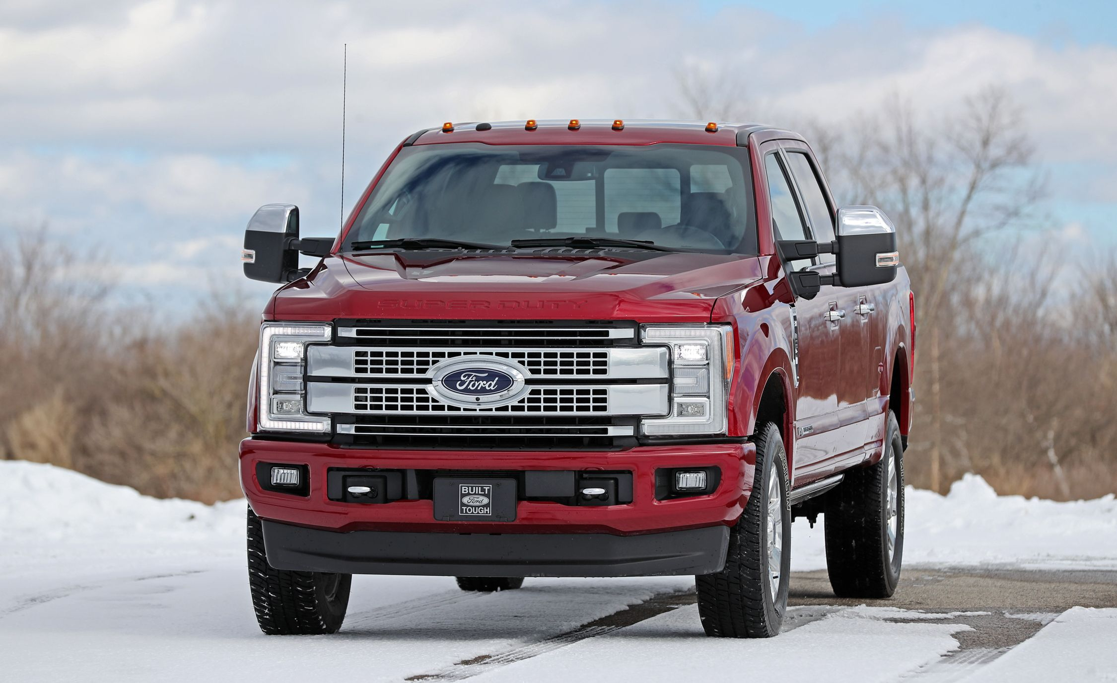 2018 ford f series super duty engine and transmission review car and driver