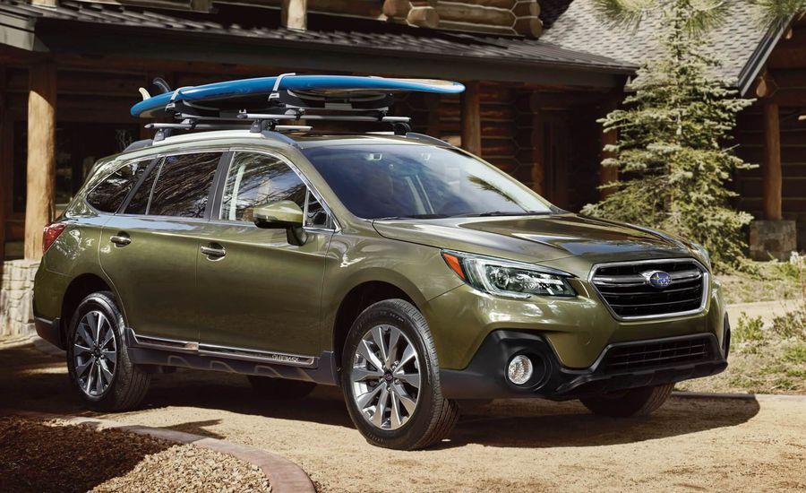 2018 Subaru Outback Exterior Review Car And Driver
