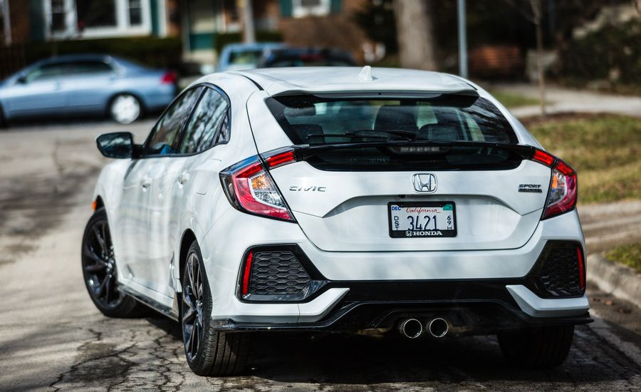 Car And Driver  Civic Si Hatchback