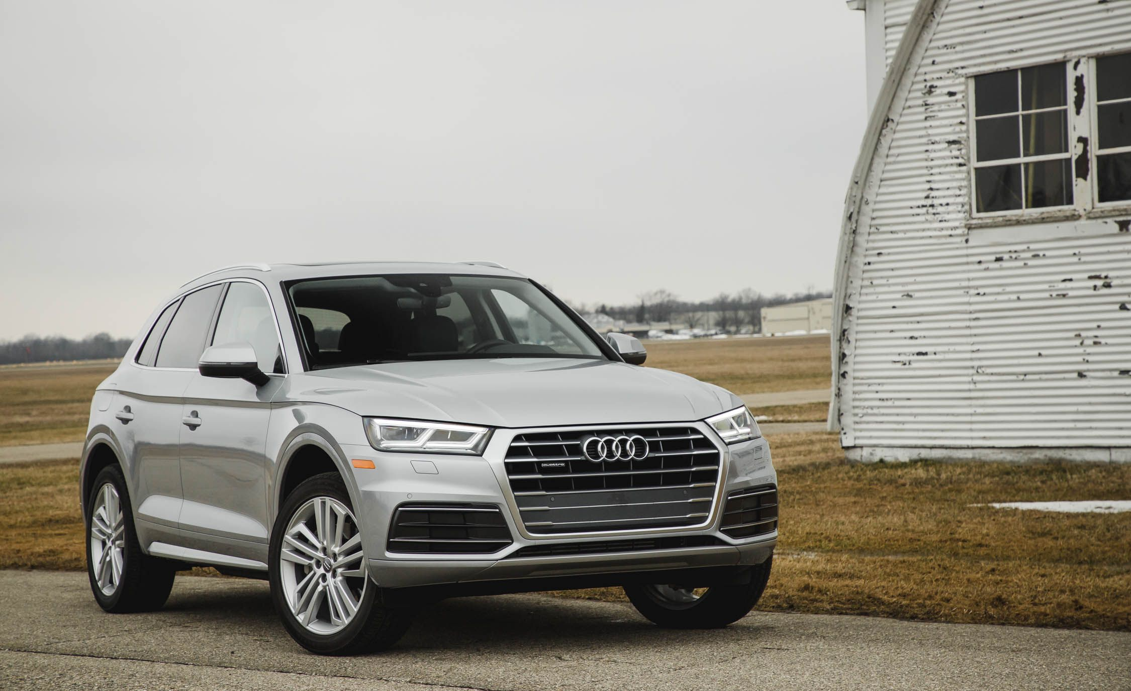 2018 audi q5 first drive review car and driver rh caranddriver com Audi A6 Audi A5