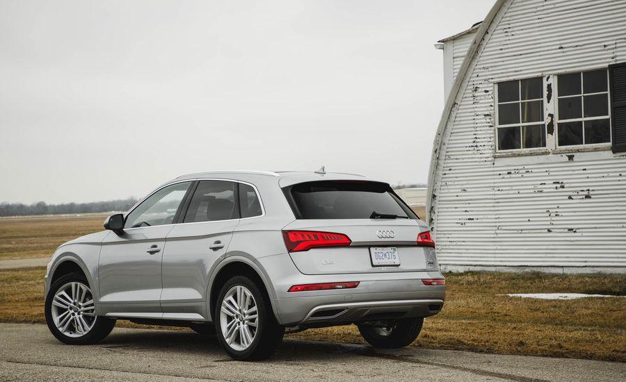 2018 Audi Q5 Interior Review Car And Driver