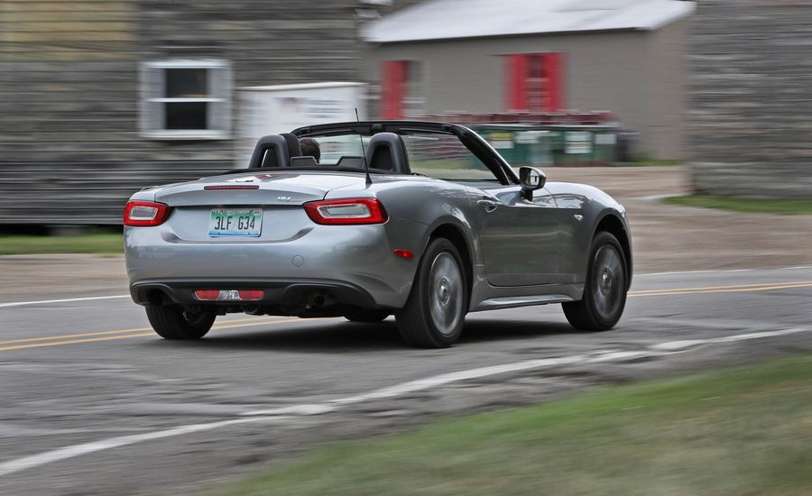 Fiat Spider InDepth Model Review Car And Driver - Fiat warranty